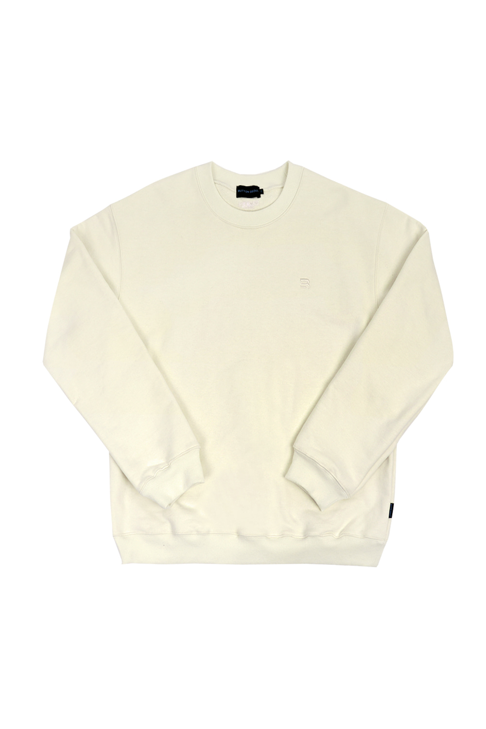 OverSize Heavy Sweat Shirt (Cream)