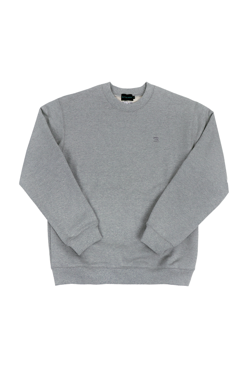 OverSize Heavy Sweat Shirt (Grey)