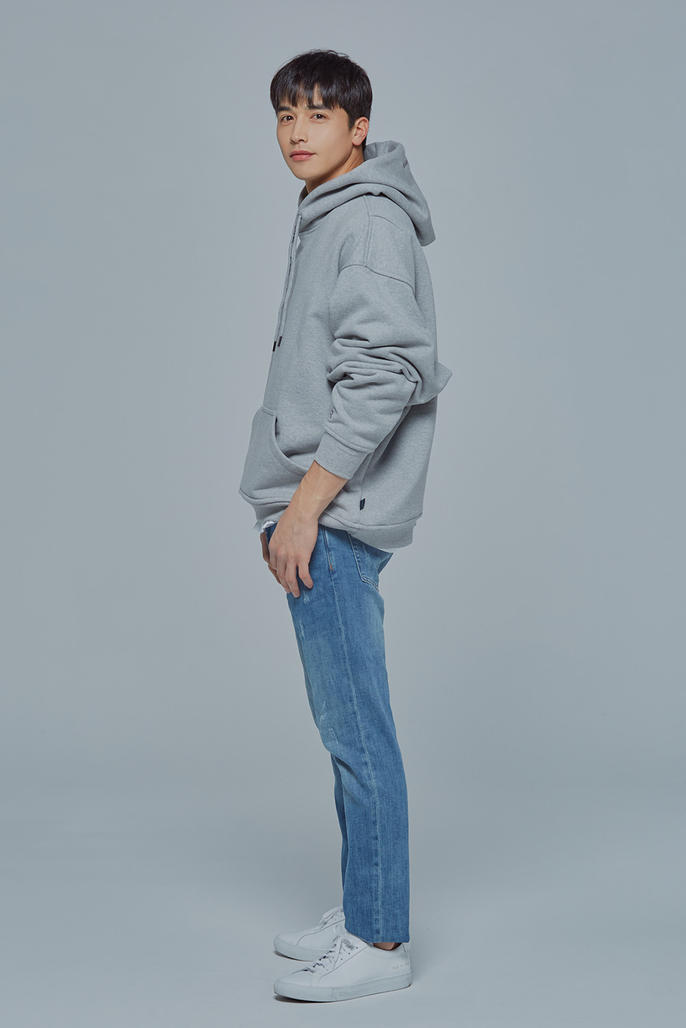 OverSize Heavy Hood (Grey)