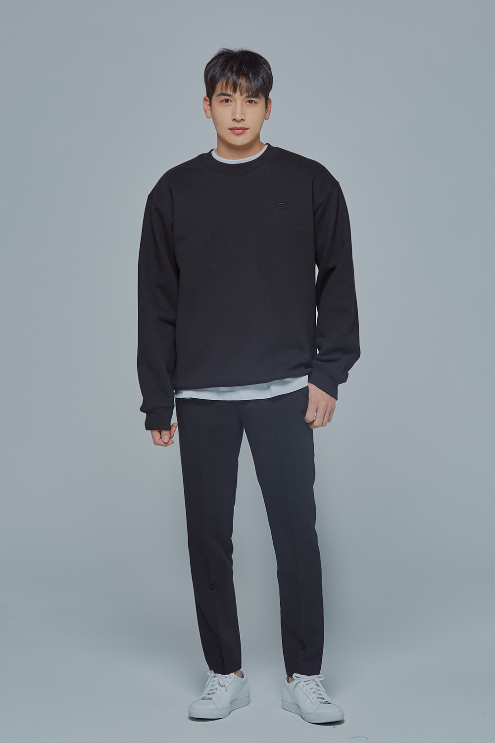 OverSize Heavy Sweat Shirt (Black)