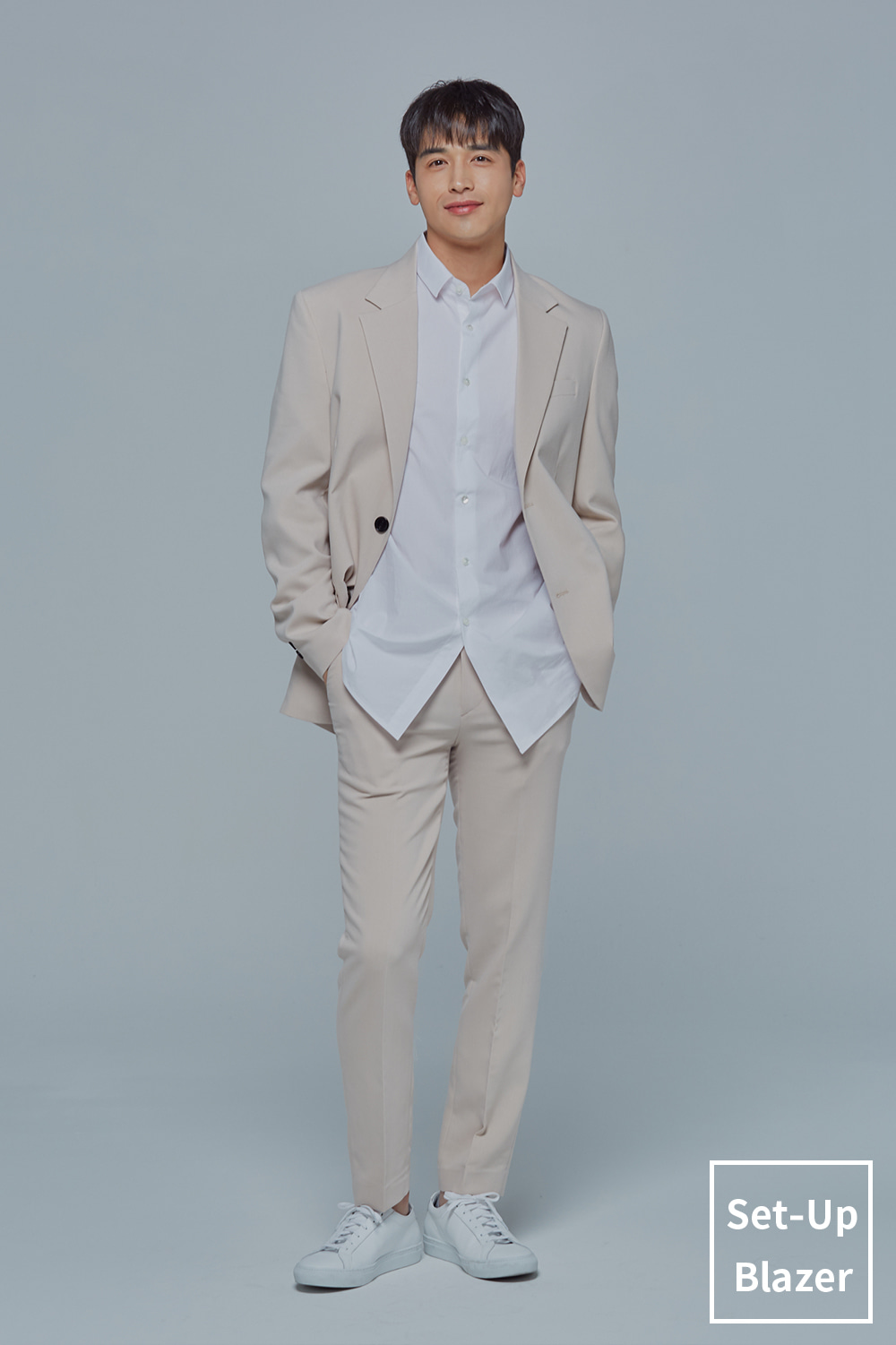 Set-Up Blazer (Light Beige)