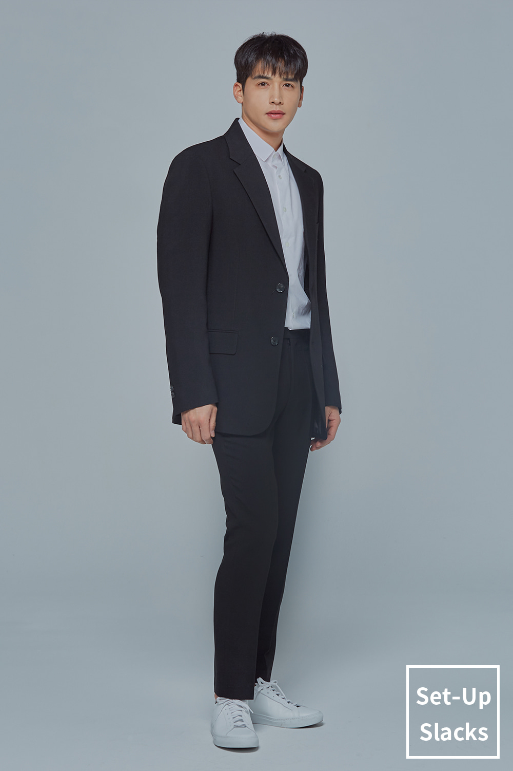 Set-Up Slacks (Black)