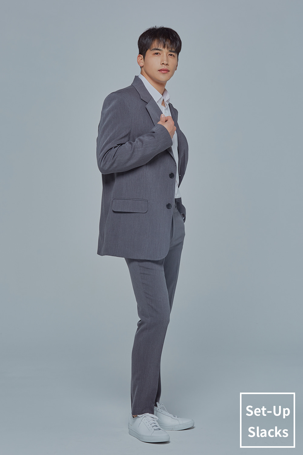 Set-Up Slacks (Grey)