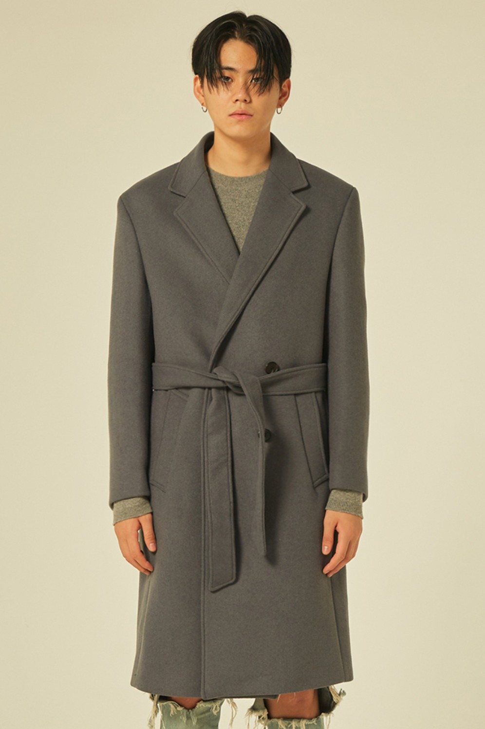 Robe Coat (Dove Grey)
