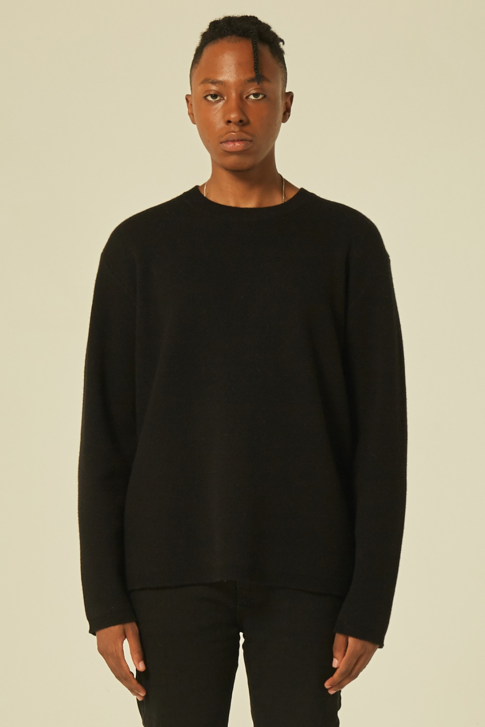 Cashmere Knit (Black)