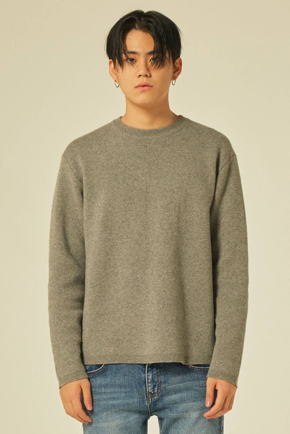 Cashmere Knit (Dark Grey)