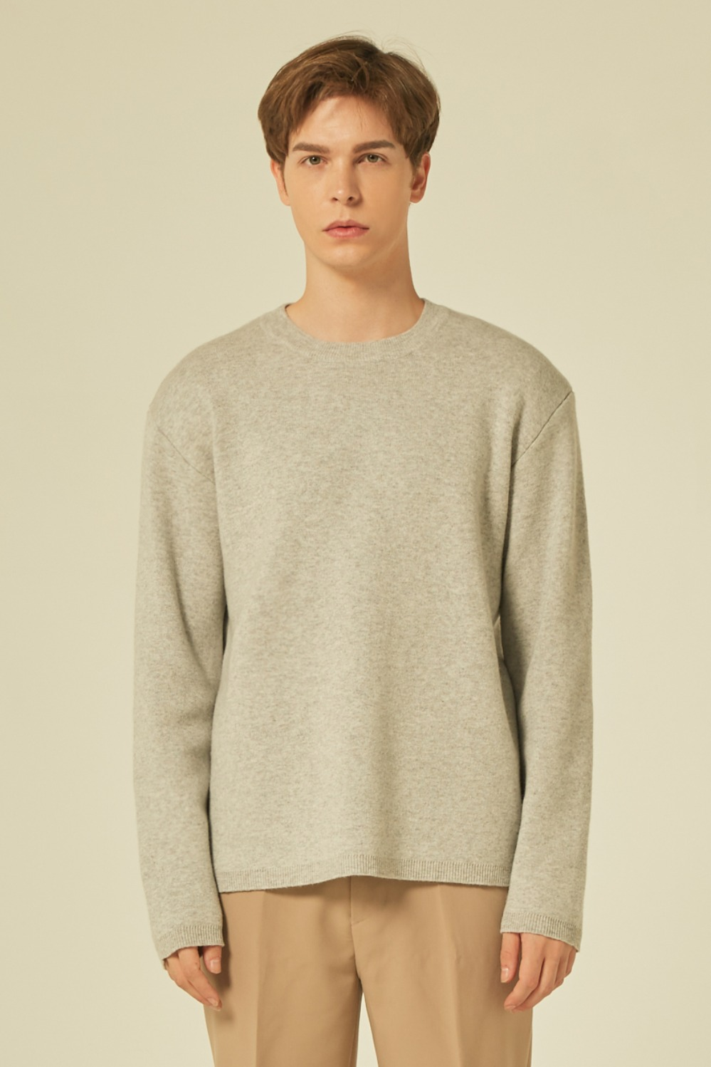 Cashmere Knit (Light Grey)