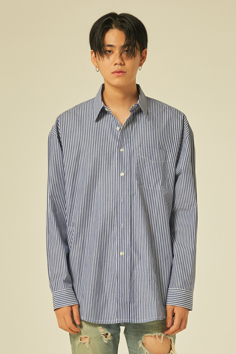 Oversize Stripe Shirts