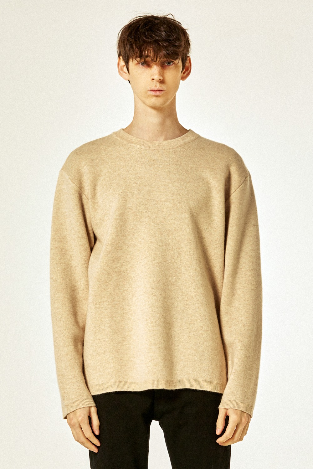 21 S/S Cashmere Knit (Cream)